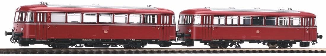 Piko Schienenbus 798 + Steuerwagen 998.6 (52724)