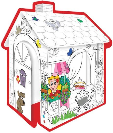 Mochtoys Spielhaus zum Bemalen