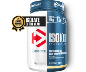 Dymatize Iso100 Hydrolyzed 100 Whey Protein Isolate 900g Birthday Cake