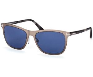 Tom Ford Herren Sonnenbrille »Alasdhair FT0526«, grau, 15V - grau/blau