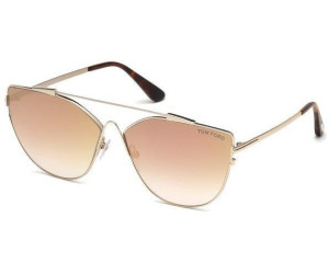 Tom Ford Damen Sonnenbrille » FT0563«, goldfarben, 28C - gold