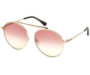 Tom Ford Damen Sonnenbrille » FT0571«, goldfarben, 28B - gold