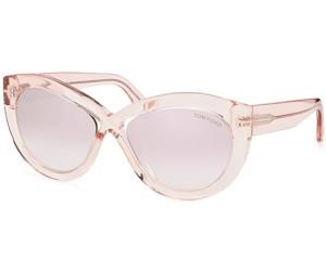 Tom Ford Damen Sonnenbrille » FT0577«, braun, 45E - braun/braun
