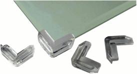 Reer Kantenschutz für Glastische 4 Stück