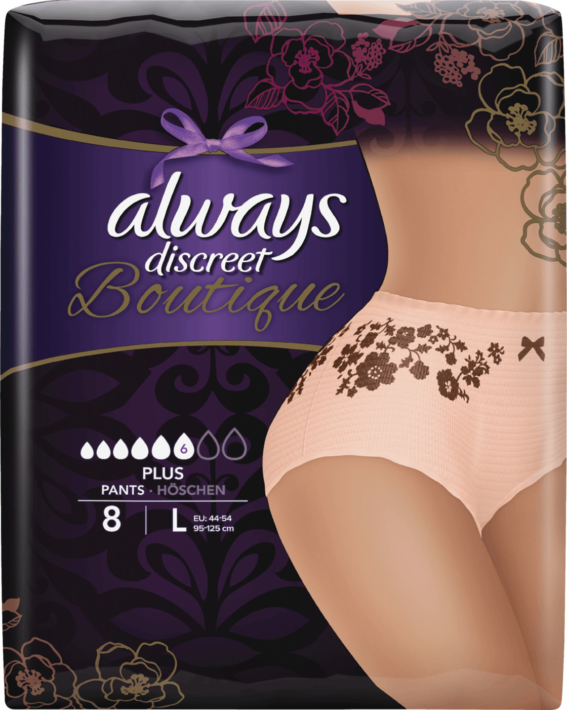 Always Discreet Boutique Pants Gr. L (8 Stk.)