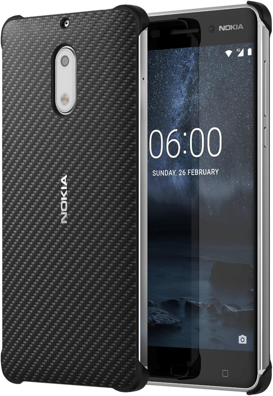 Nokia Carbon Fibre Design CC-802 (Nokia 6) black