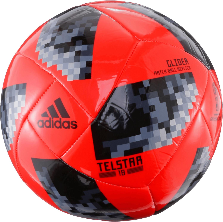 Adidas Telstar 18 Glider solar red/black/silver...