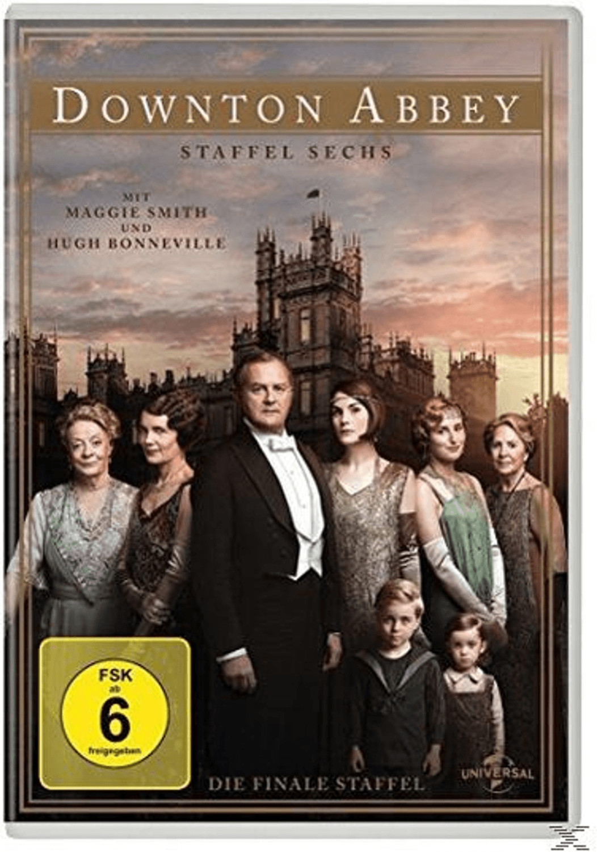 Downton Abbey - Staffel 6 [DVD]