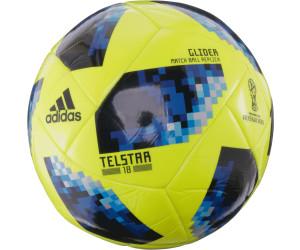 Adidas Telstar 18 Glider solar yellow blue bright desde 15 abd4edafde2e2
