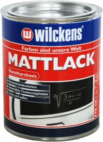 Wilckens Mattlack 750 ml grün