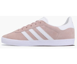 74002ecd10da Buy Adidas Gazelle Kids ice pink white gold metallic from £38.62 ...
