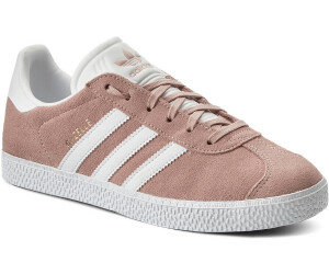 Buy Adidas Gazelle Kids ice pink white gold metallic from £42.00 ... 372a71f4f34f
