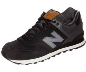 new balance 574 noir cuir
