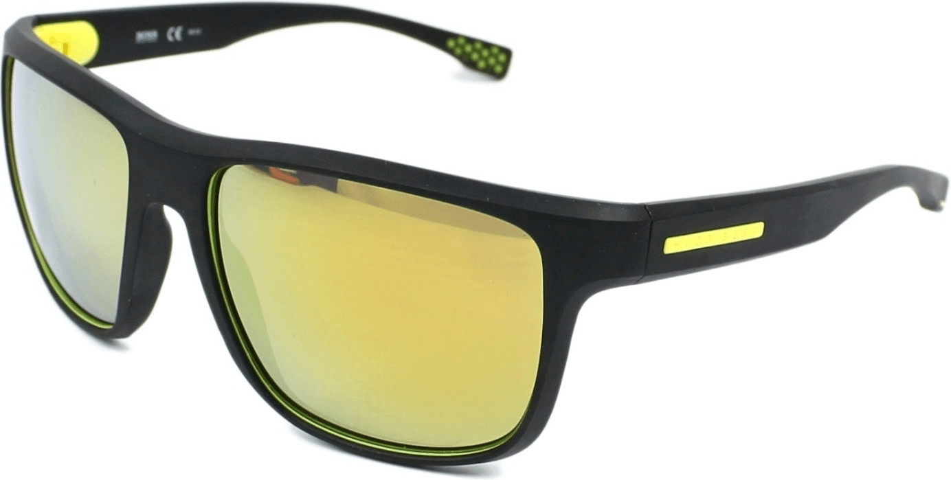 Image of Hugo Boss 0799/S UDK/C4 (black/yellow polarized)