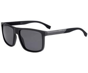 Boss Boss 0879/S 0J7/RA 57 black carbon black / grey polarized h4ZN2