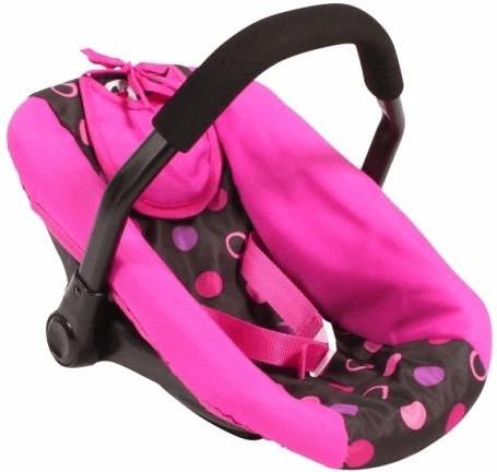 Bayer-Chic Puppen-Autositz - Pinky Balls (70868)
