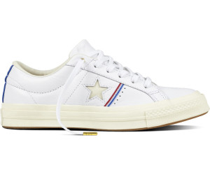 ... white/enamel red/egret (159694C). Converse One Star Piping
