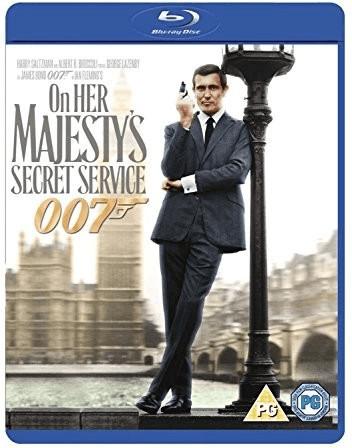 Image of On Her Majesty's Secret Service [Blu-ray] [1969]