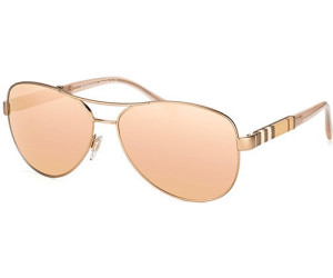 BURBERRY Burberry Damen Sonnenbrille » BE3080«, goldfarben, 12357J - gold/ gold