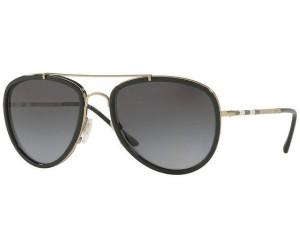 BURBERRY Burberry Damen Sonnenbrille » BE3084«, grau, 10039A - grau/grün