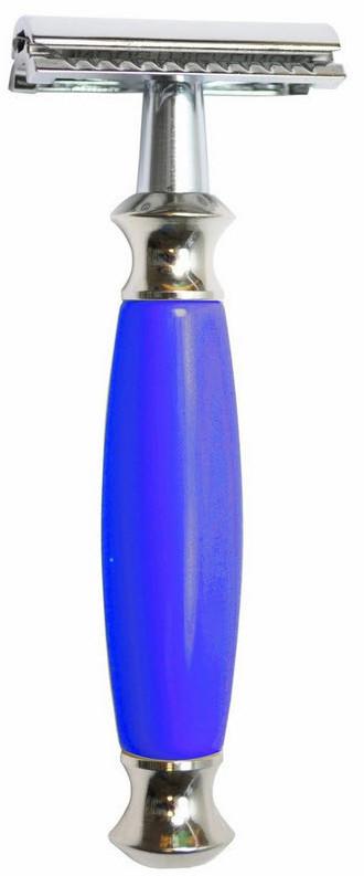 Golddachs Rasierhobel blau