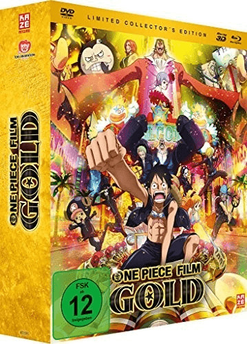 One Piece Movie Gold - Film 12 3D (Limited Coll...