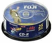 Fuji Magnetics CD-R 700MB 80min 52x bedruckbar ...