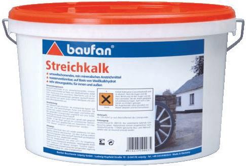 Baufan Streichkalk 5 Liter