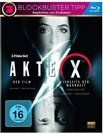 Akte X - Der Film/Jenseits der Wahrheit (DOPPEL...