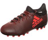 Adidas Botas De Fútbol x 17,3 AgTacos MoldeadosAmarillo Fluorescente Y Negro