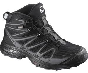 X-Chase Mid Gtx® - Chaussures randonnée homme India Ink / Red Dalhia / Black 46.2/3 bdrj5D0