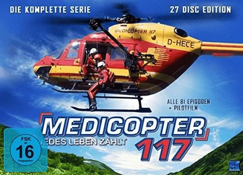 Medicopter 117 - Jedes Leben zählt - Limitierte Gesamtedition [alle 81 Épisoden + Pilotfilm] [DVD]