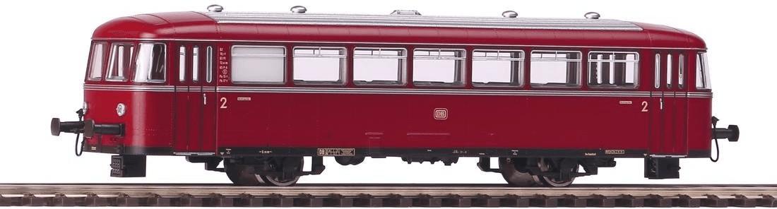 Piko Schienenbus-Bei/Packwagen 998 Wechselstrom...