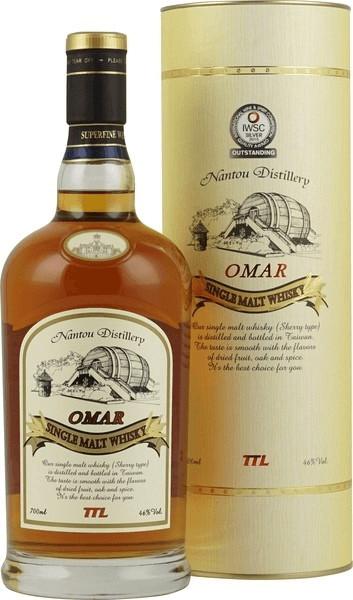 Omar Single Malt Whisky Sherry Type 0,7l 46%