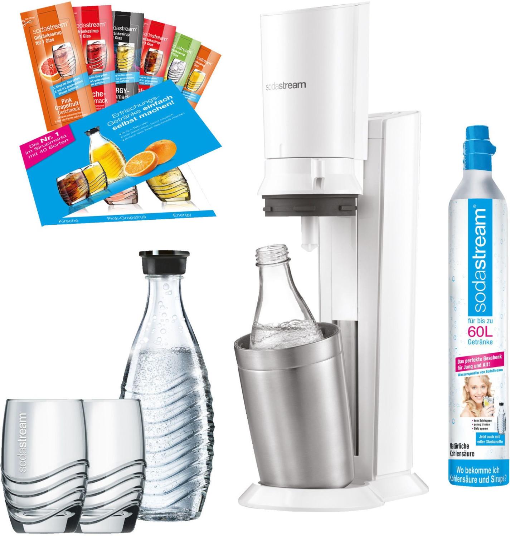SodaStream Crystal 2.0 weiß Promopack