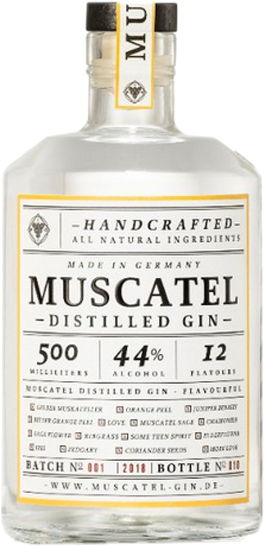 Muscatel Gin Distilled Gin 0,7l 44%