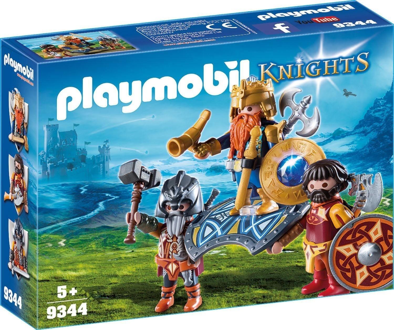 Playmobil Knights - Zwergenkönig (9344)
