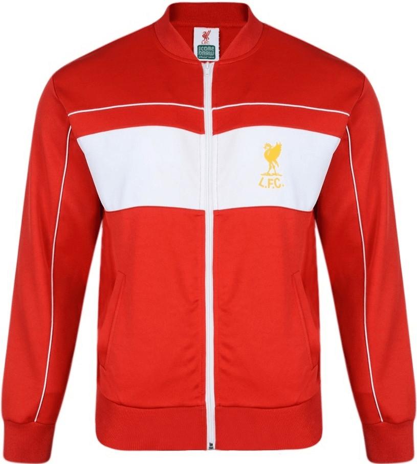 Score Draw FC Liverpool Retro Trainingsjacke 1982