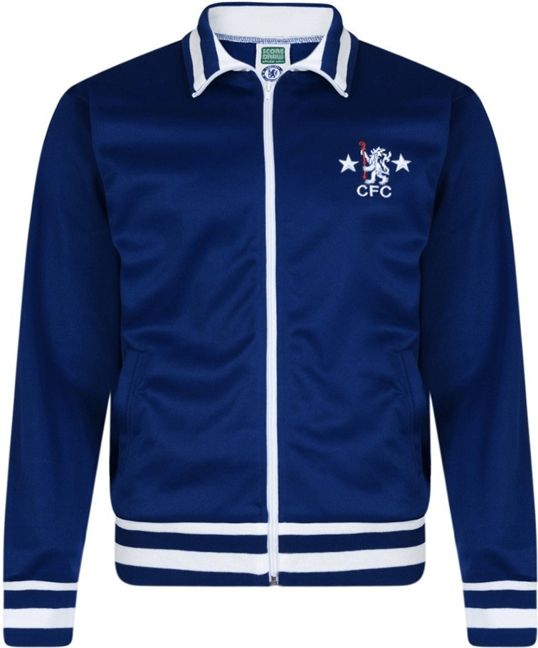 Score Draw Chelsea London Retro Trainingsjacke ...