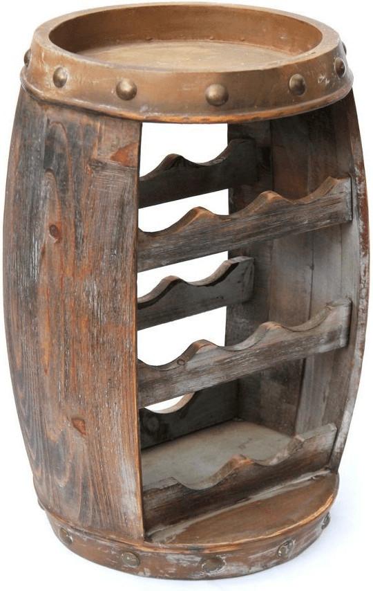 DanDiBo Weinregal Weinfass 1555 für 8 Flaschen