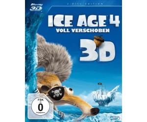 Ice Age 4 - Voll verschoben (3D) [Blu-ray]