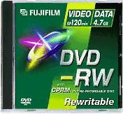 Image of Fuji Magnetics DVD-RW 4,7GB 120min 2x 5pk Jewel Case