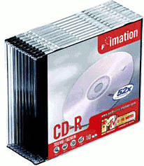 Imation CD-R 700MB 80min 52x 10er Slimcase