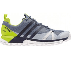 Adidas Terrex Agravic GTX raw steel/collegiate navy/solar slime ab ...
