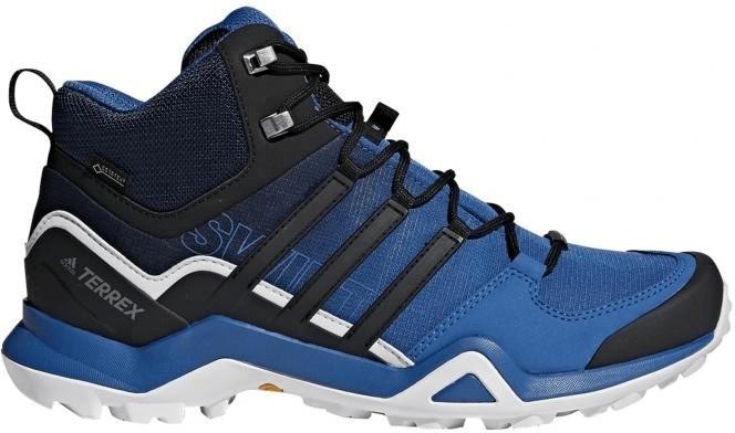 Image of Adidas Terrex Swift R2 Mid GTX blue beauty/core black/grey one