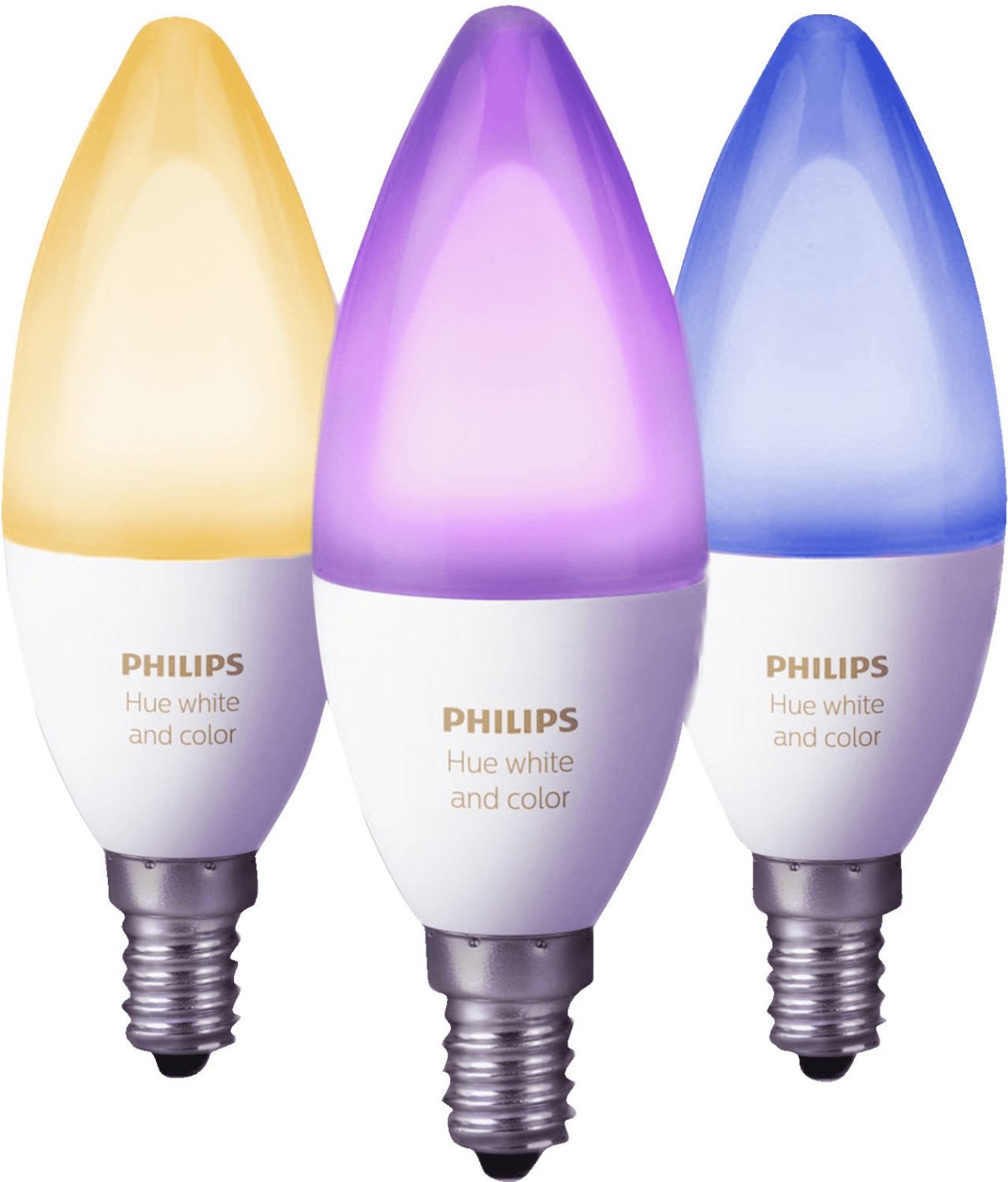 Philips Hue White & Color Ambiance 6,5W E14 3er...