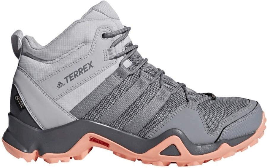 Image of Adidas Terrex AX2R Mid GTX W grey two/grey three/chalk coral