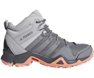 Adidas Terrex AX2R Mid GTX W grey two/grey three/chalk coral ...