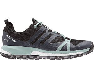 adidas Agravic GTX Mountain Running Schuhe Damen, carbongrey threeash green,Größen: 38 2/3, 38, 39 1/3, 40 2/3, 41 1/3, 42