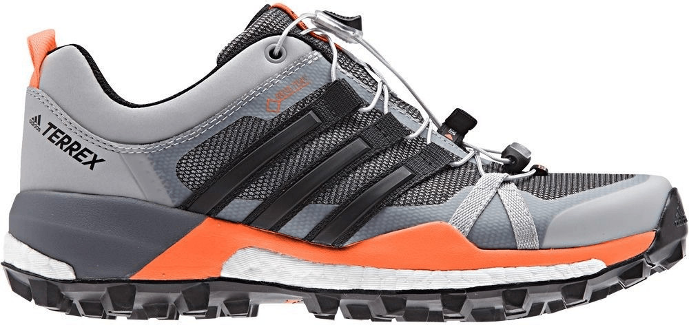Image of Adidas Terrex Skychaser GTX W grey two/core black/hi-res orange